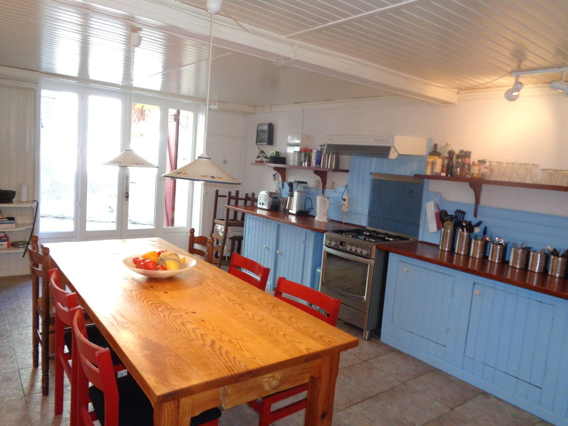 Spacious renovated village house  with superb roof terrace